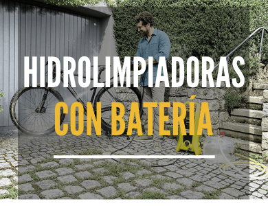 Hidrolimpiadoras con bateria