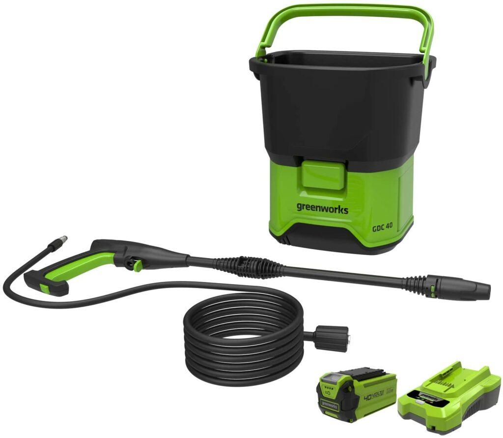 Limpiadora alta presión a batería Greenworks